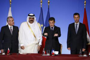 Sarkozy, Assad and other world leaders